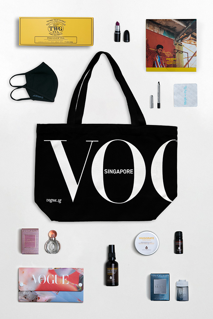 Club Vogue gifts layout
