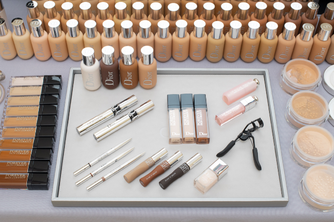 Cruise 2021 Runway Beauty Makeup Skincare Dior Chanel Lucia Pica Peter Philips