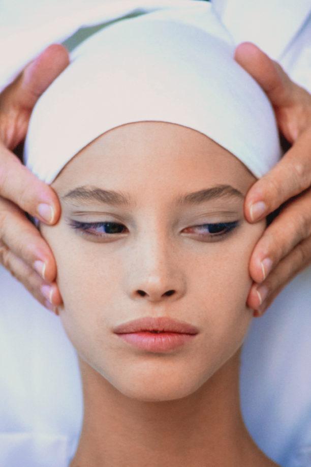 Christy Turlington, Vogue, skincare selfceare aesthetic treatments Vogue Singapore 2020