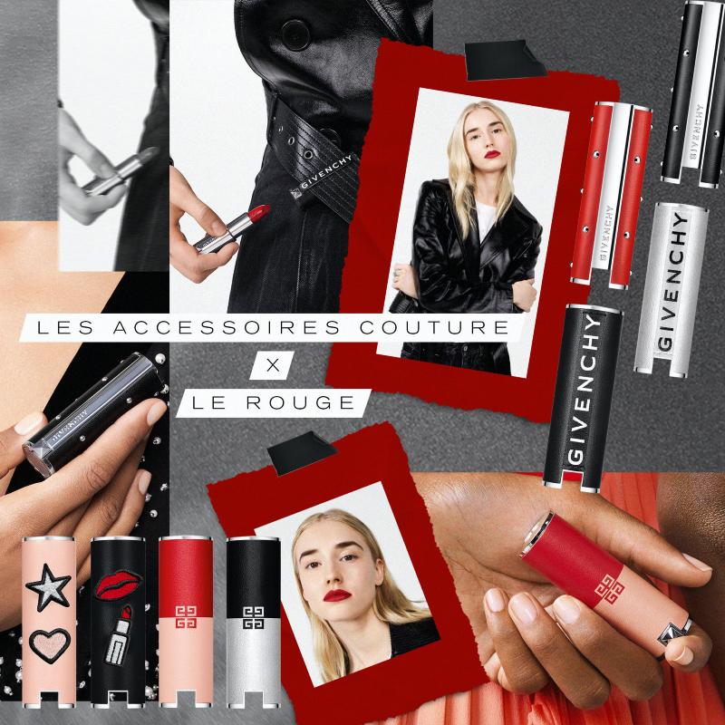 Vogue Singapore Givenchy Beauty Le Rouge Deep Velvet Lipsticks Les Accessoires
