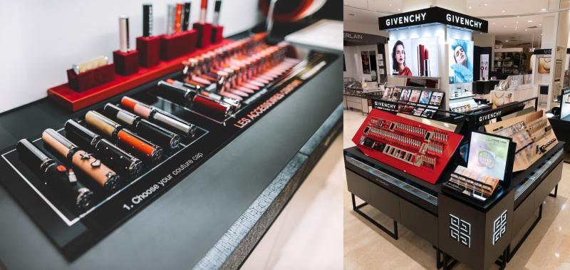 Vogue Singapore Givenchy Beauty Le Rouge Deep Velvet Lipsticks Takashimaya Les Accessoires Couture