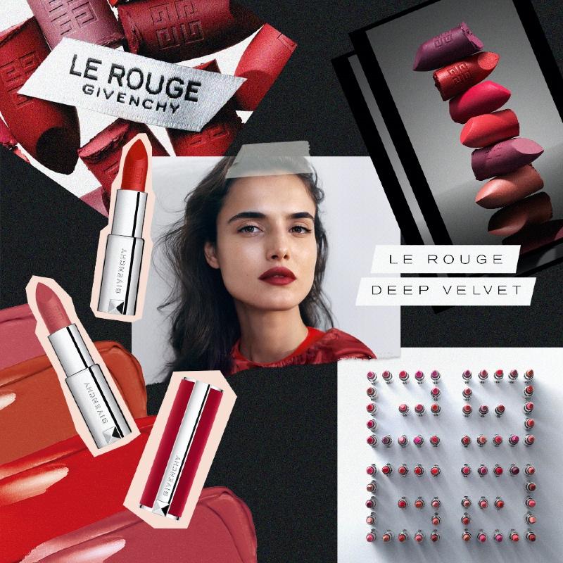 Vogue Singapore Givenchy Beauty 37 Rouge Graine Le Rouge Deep Velvet Lipsticks Takashimaya Les Accessoires Couture