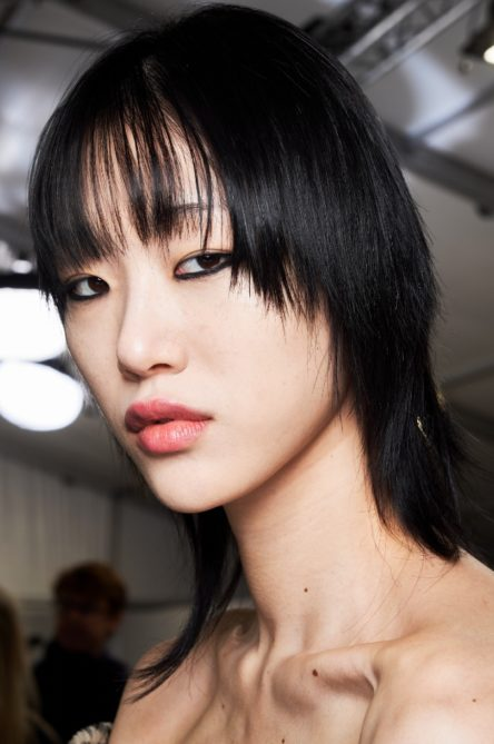Dior Beauty Fall Winter 2020 Hair Makeup Model Backstage