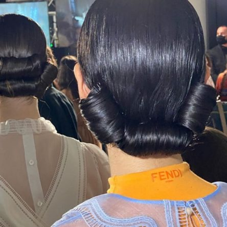 Fendi spring_summer 2020 Milan fashion week Vogue Singapore 2020 Sam McKnight hair