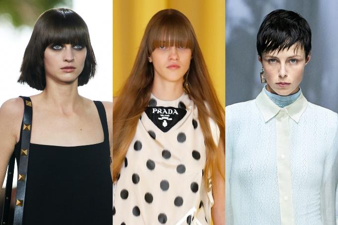 Vogue Singapore 2020 - Milan Fashion Week Spring Summer 2021 Beauty Hair Runway Trends