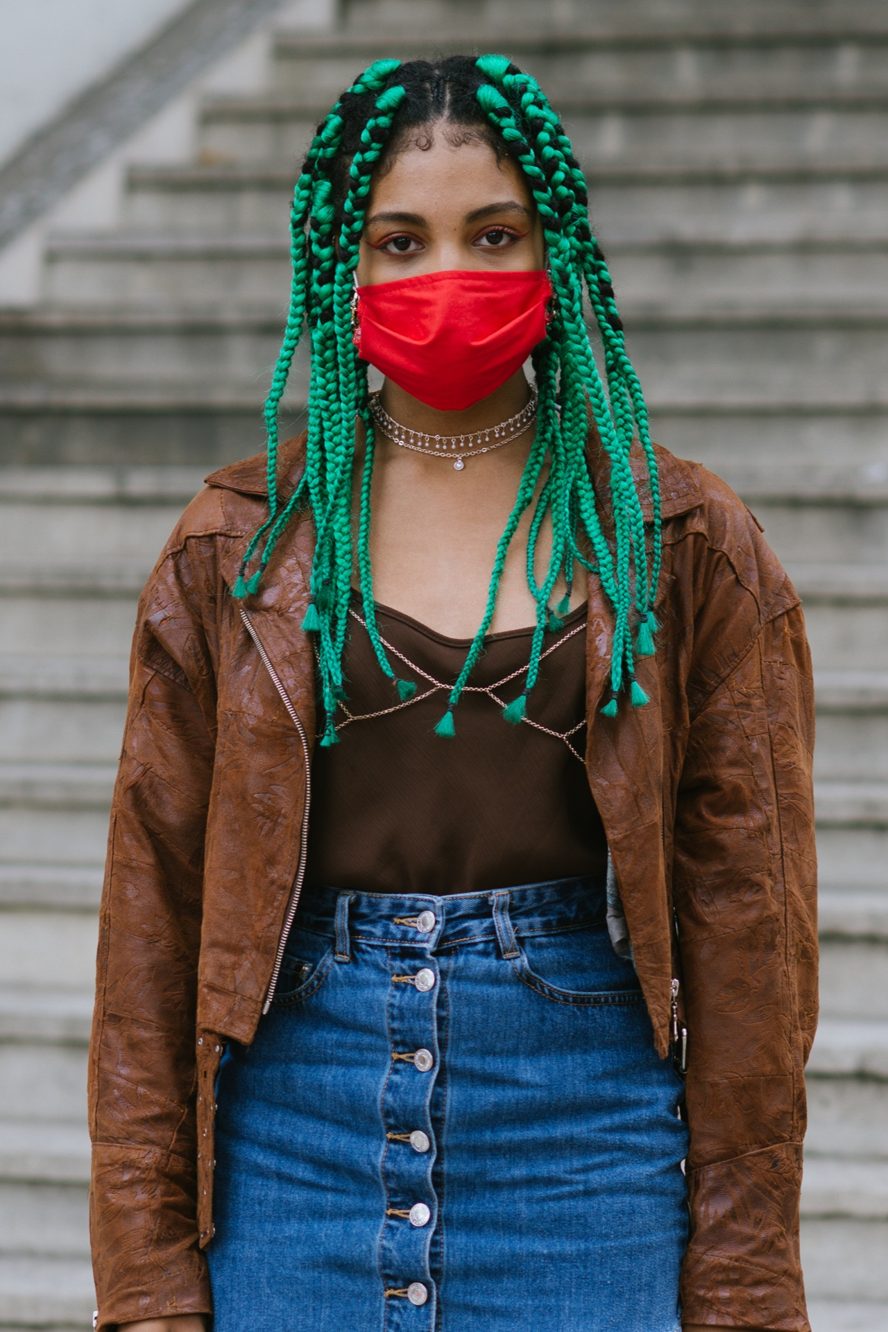 Vogue Singapore Paris Fashion Week Beauty Street Style Spring Summer 2021 Makeup Hair