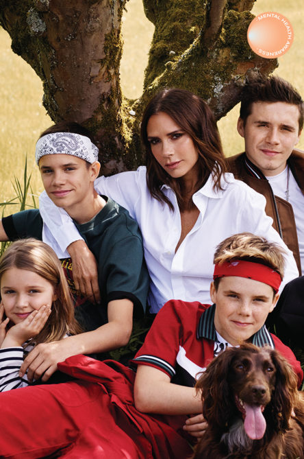 Vogue Singapore Motherhood Celebrities Selfcare Childcare Mental Health - Victoria Beckham family.jpg