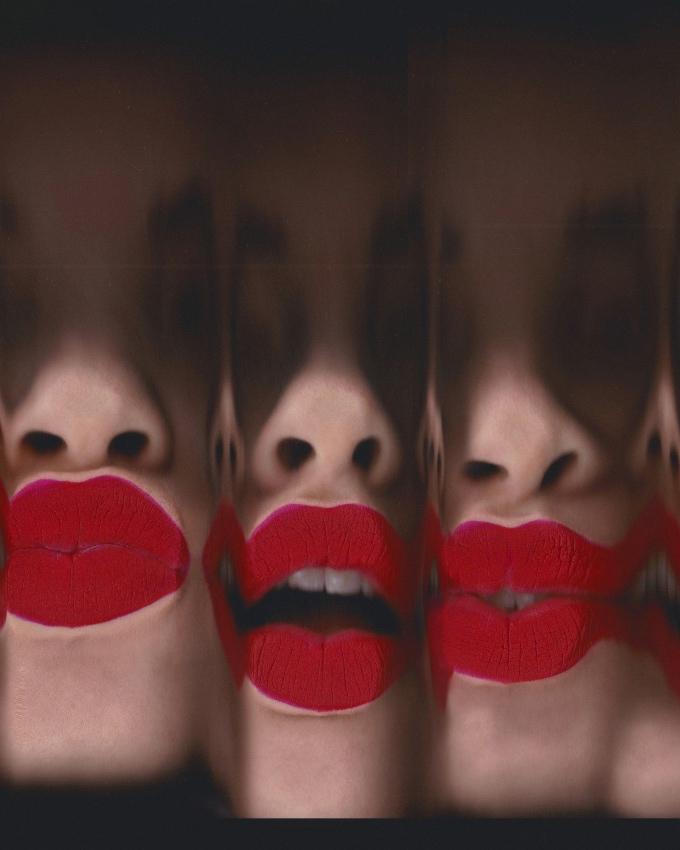 Vogue Singapore - Burberry beauty makeup - Isamaya Ffrench