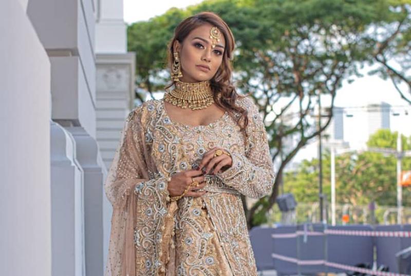 Deepavali Beauty look Malene