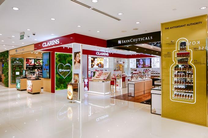 Vogue Singapore 2020 - Gucci BHG Singapore Beauty Hall Bugis Junction Clarins Skinceuticals