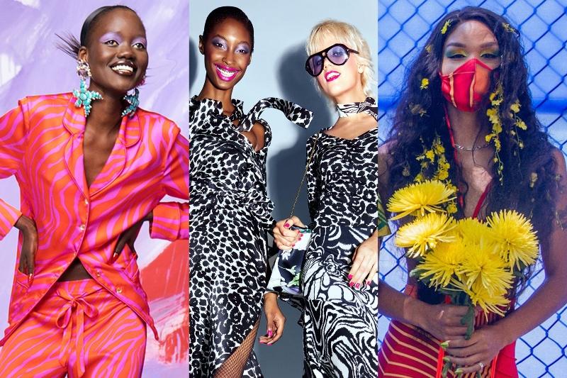 Vogue Singapore 2021 beauty trends - makeup spring summer eyeliner lipstick hair fringe