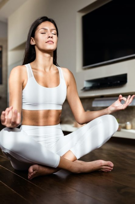 Vogue Singapore 2021 - beauty wellness meditation calm mental health apps selfcare