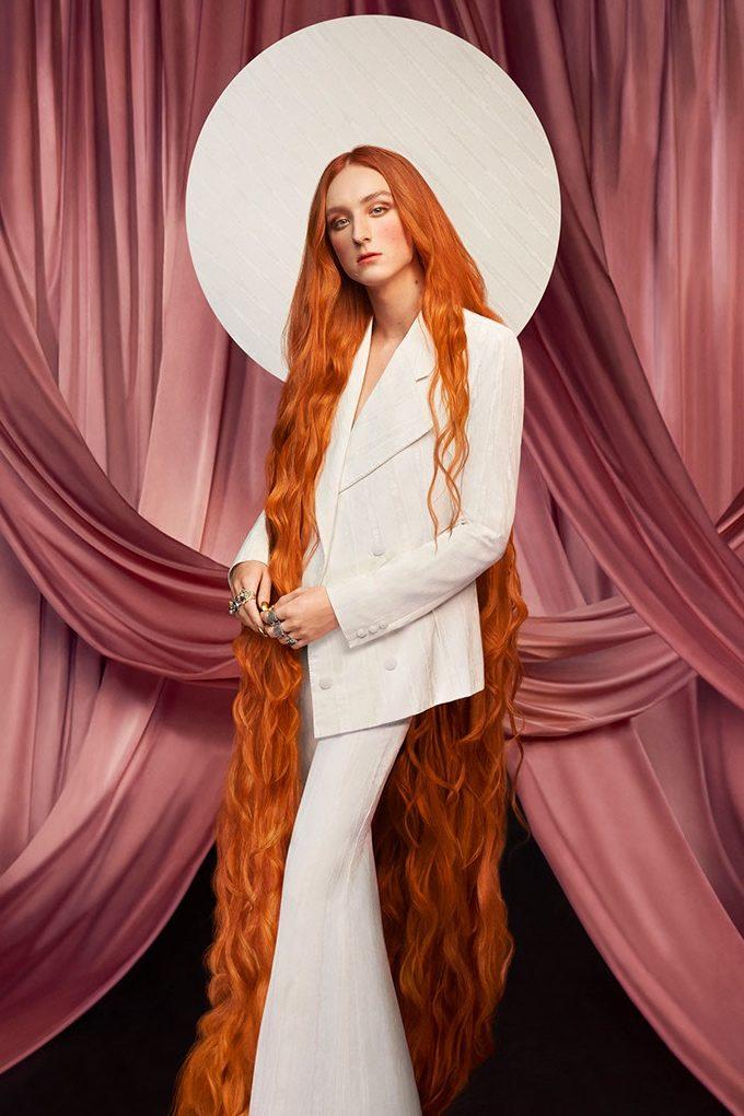 Vogue Singapore January 2021 - MAC Cosmetics Harris Reed collaboration make-up gender fluidity beauty