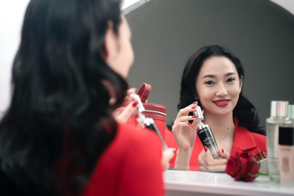 Vogue Singapore February 2021 - Lancôme Génifique Chinese New Year CNY - Karisa Sukamto Christabel Chua Rachel Lim