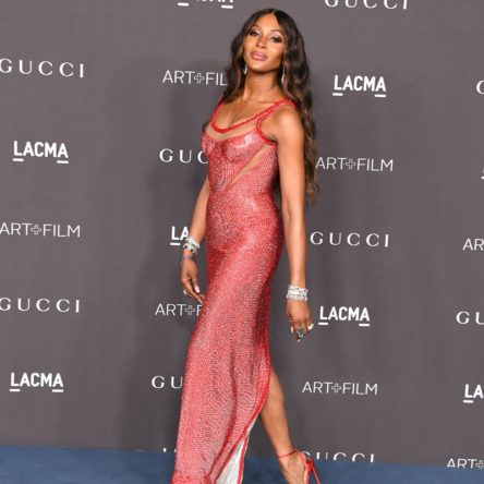 Vogue Singapore February 2021 - Naomi Campbell runway ready legs body bodycare