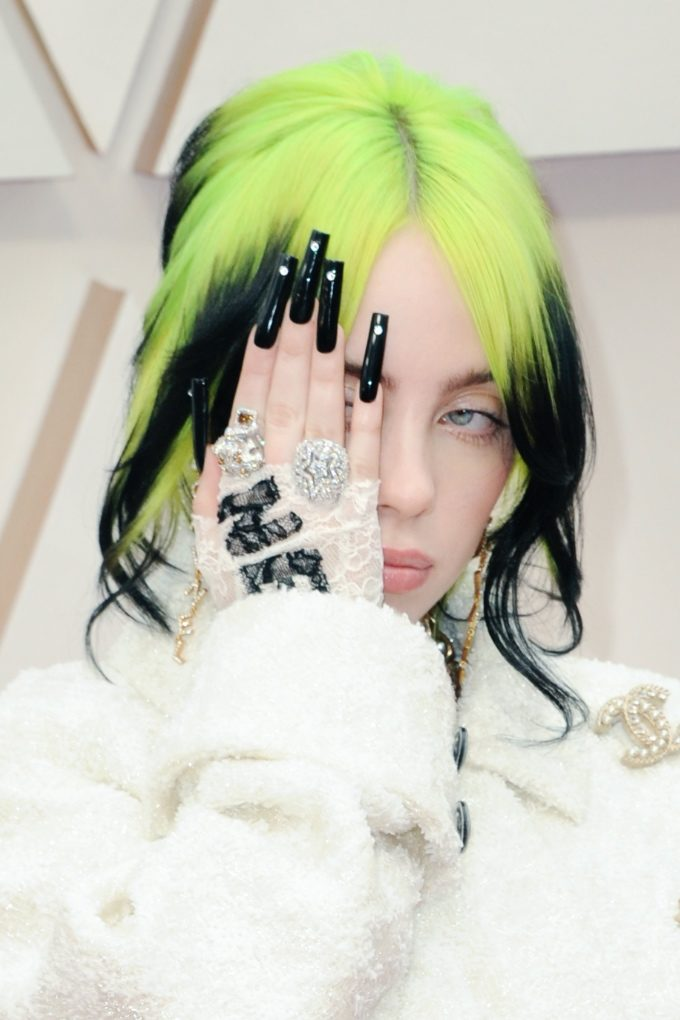 Vogue Singapore February 2021 - Billie Eilish nails manicure beauty trends