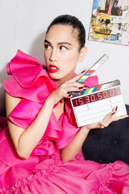 Vogue Singapore February 2021 - beauty New York fashion week nyfw makeup hair trends -prabal-gurung-backstage-fall-2021