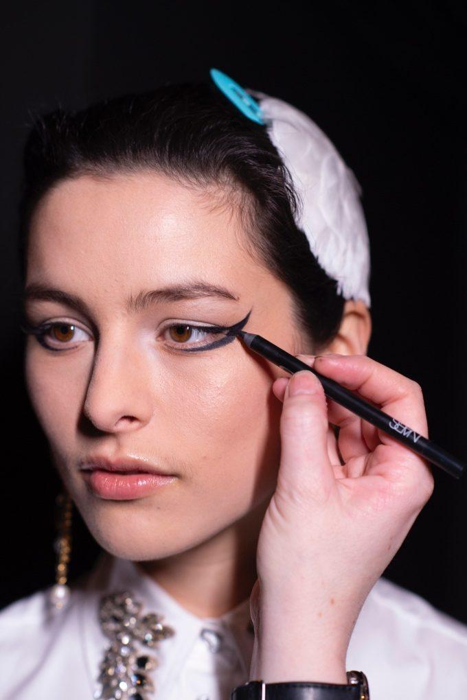 Vogue Singapore February 2021 - Milan fashion week London Paris Erdem beauty backstage runway NARS