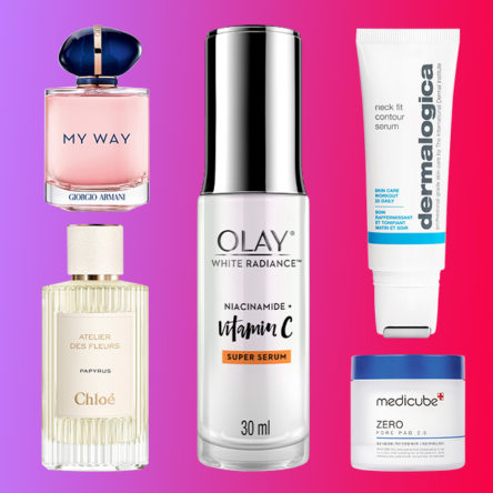 Vogue Singapore march 2021 add to cart beauty skincare makeup perfume fragrance hair shopping - Medicube Olay Chloe Armani Dermalogica