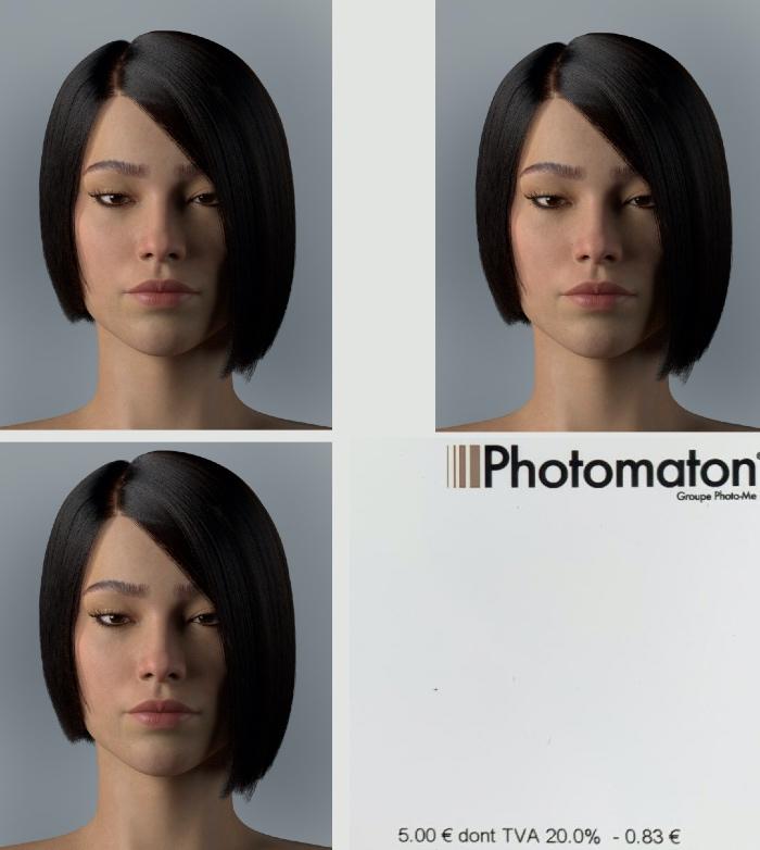 Vogue Singapore March 2021 - Nicole Wong Aeon Lou Virtual Human VFX 3D digital beauty