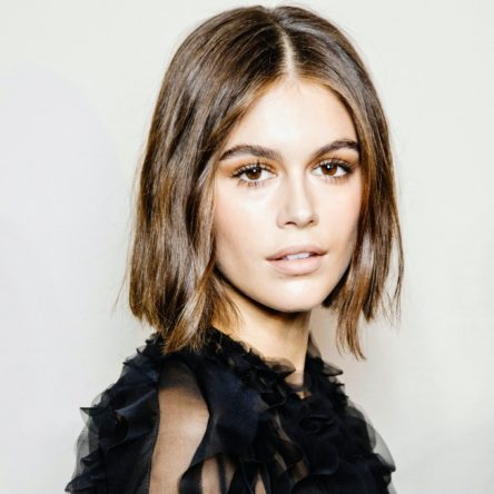 Vogue Singapore March 2021 - Kaia Gerber skin beauty hair makeup
