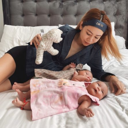 Vogue Singapore May 2021 - Nellie lim mother's day twins ivf pregnancy mummy