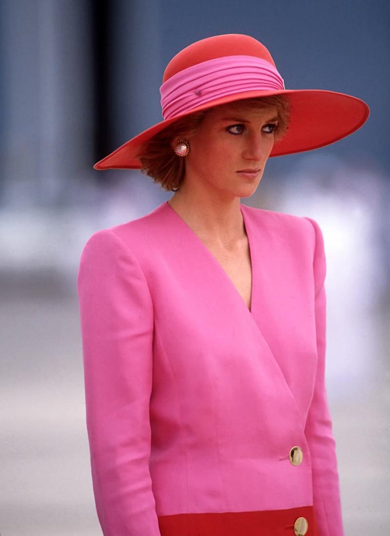 princess diana pink dubai