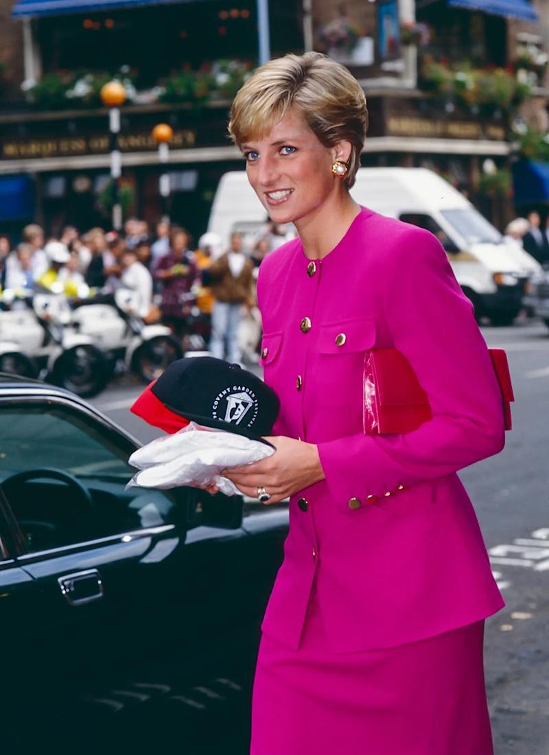 princess diana pink london