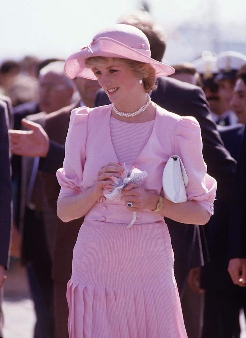 princess diana pink sicily