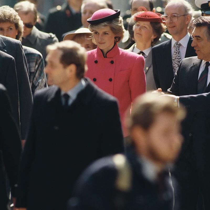 princess diana pink austria