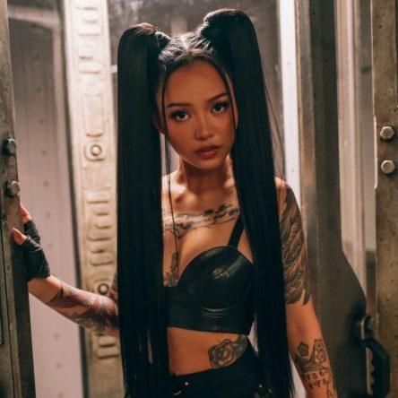 Vogue Singapore 2021 - Bella Poarch Tiktok beauty wellness mental health trauma skincare