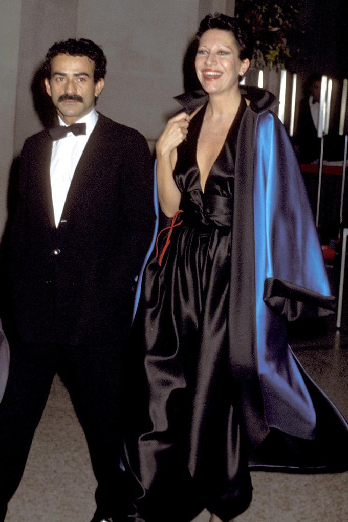 Victor Hugo and Elsa Peretti at the 1977 Met Gala