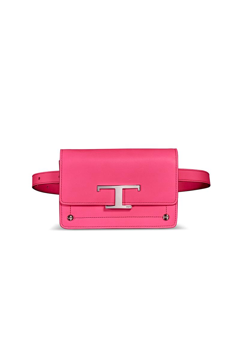tod's neon pink bag