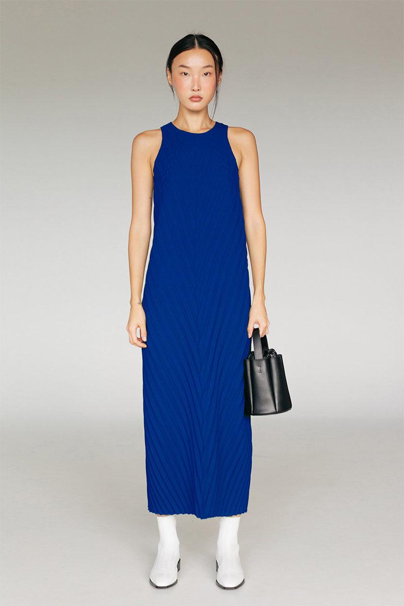 ginlee studio blue dress