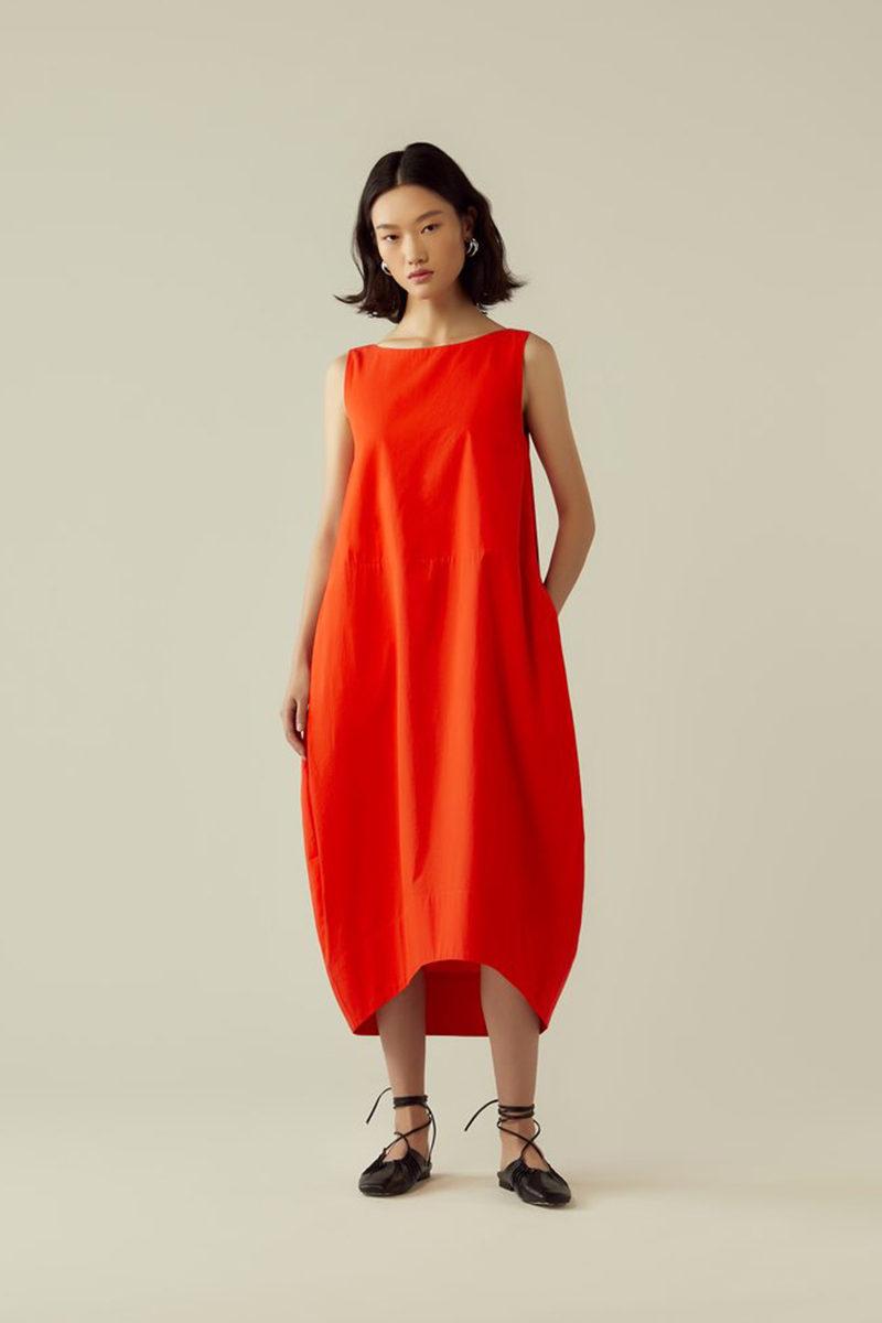 rye red dress