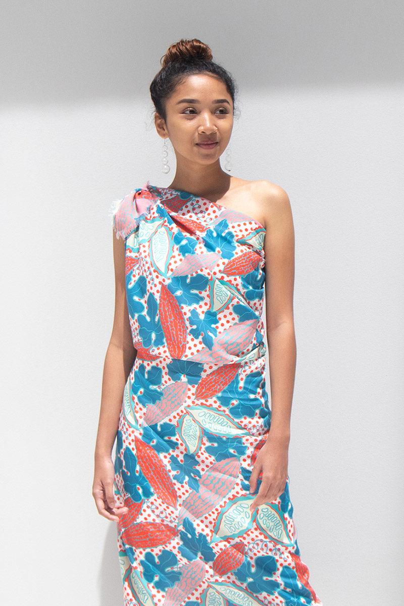 binary style dress