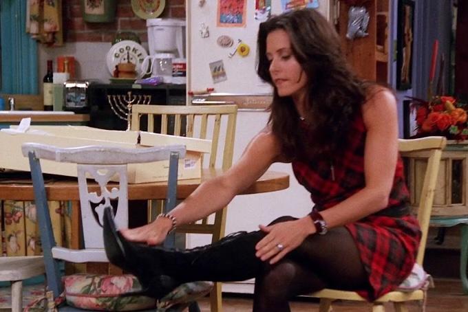 friends fashion monica boots