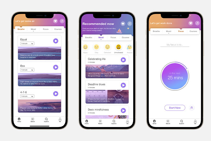 MindFi app available on Apple App store