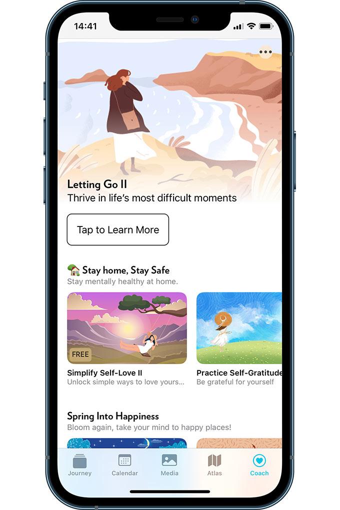 Journey Journaling app on Apple App store