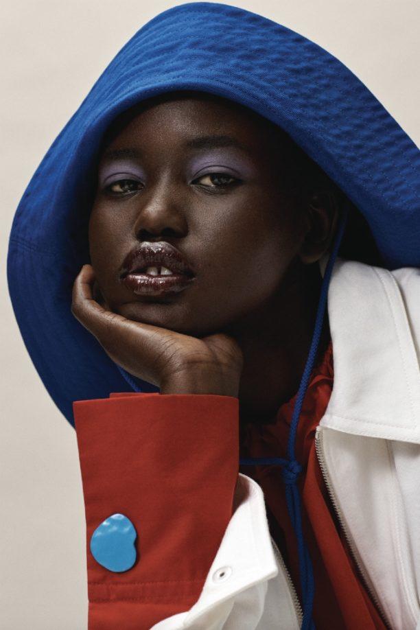 Vogue Singapore 2021 - Adut Akech Josh Olins Estee Lauder
