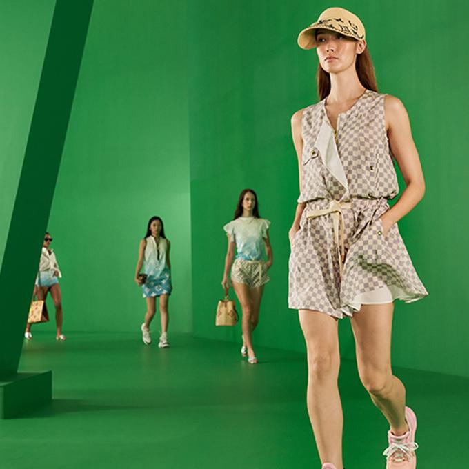 fashion models pandemic lvss21