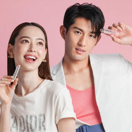 Vogue Singapore Dior Lip Glow Fiona Fussi Ayden sng