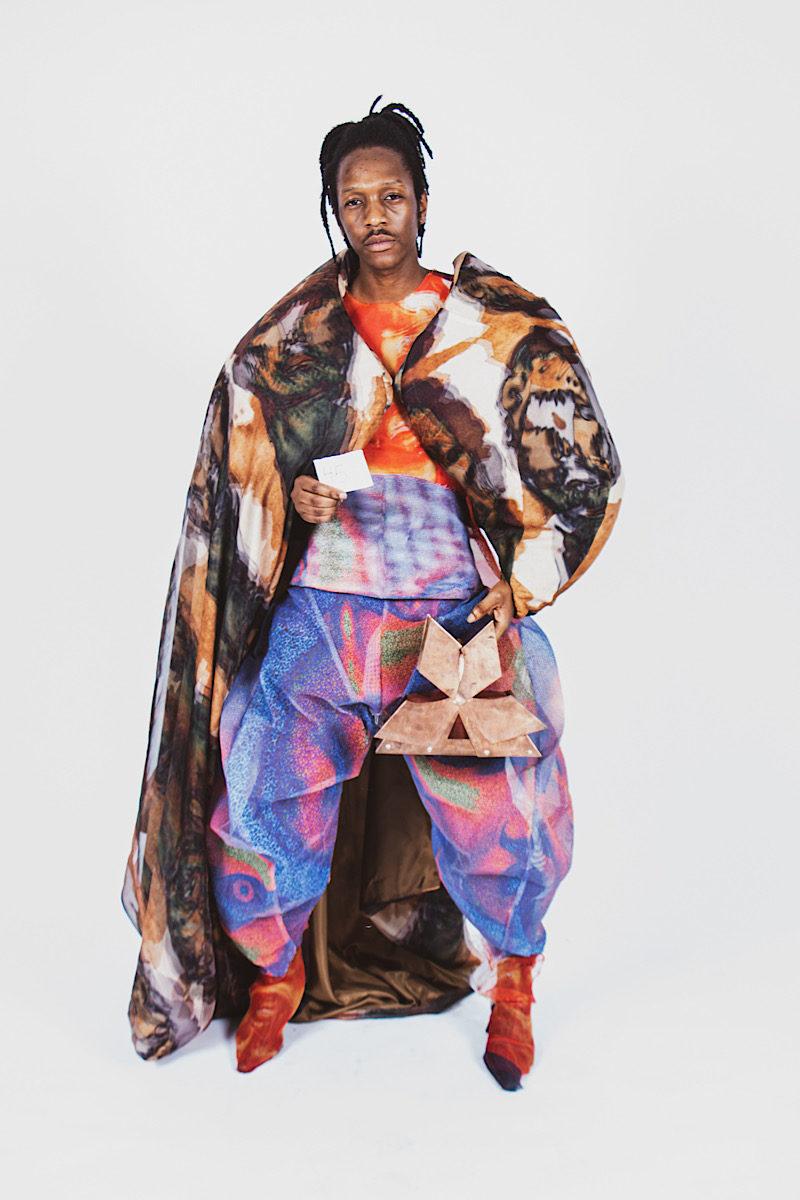 Central Saint Martins' 2021 BA show, Alexander McQueen, fashion