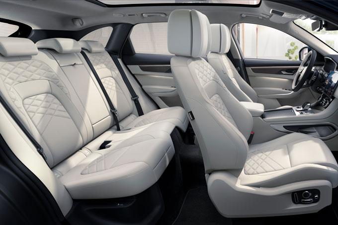 jaguar f pace seats