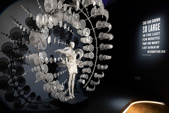 Iris van Herpen at the V&A's Alice: Curiouser and Curiouser exhibition
