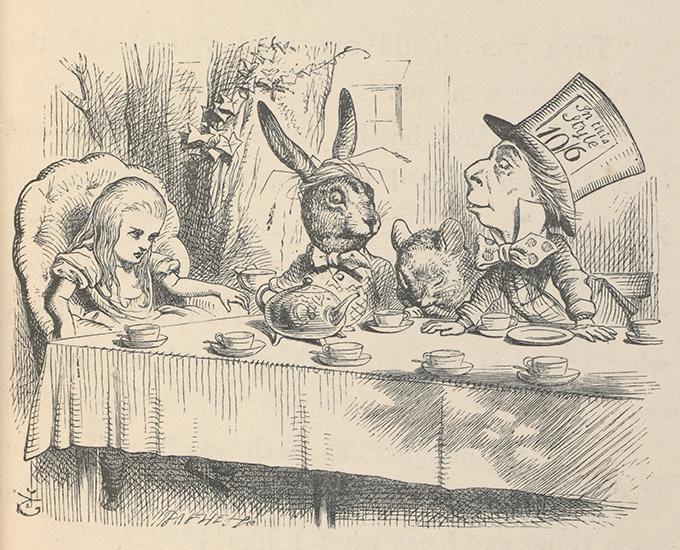 Book illustration from Alice's Adventures in Wonderland