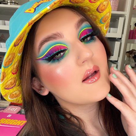 Vogue Singapore 2021 - Mikayla Nogueira Makeup Artist Tiktok