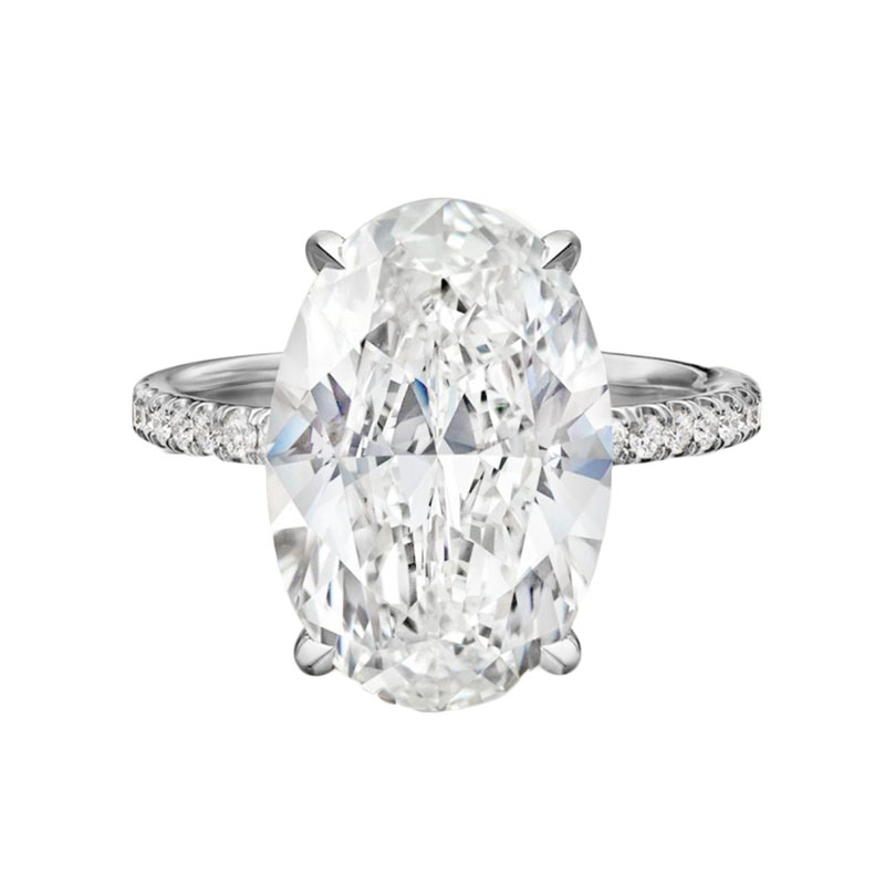 Oval engagement rings Angie Marei