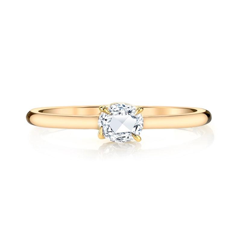Oval engagement rings Anita Ko