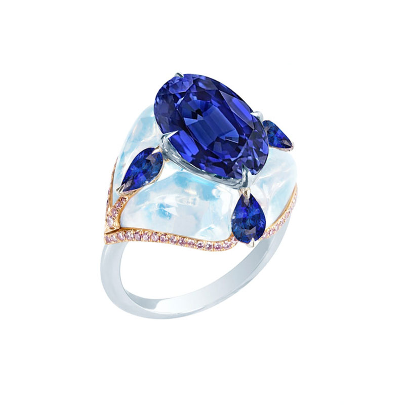 Oval engagement rings Boghossian